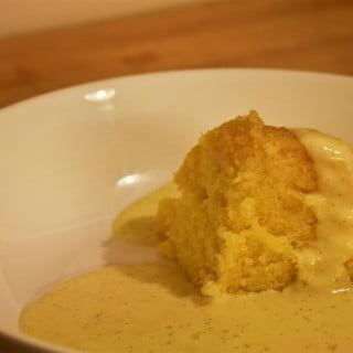 Syrup Sponge and Custard