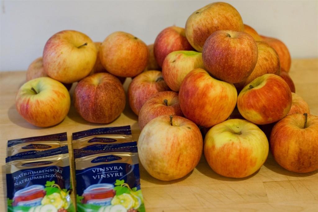Äppelmust ingredients
