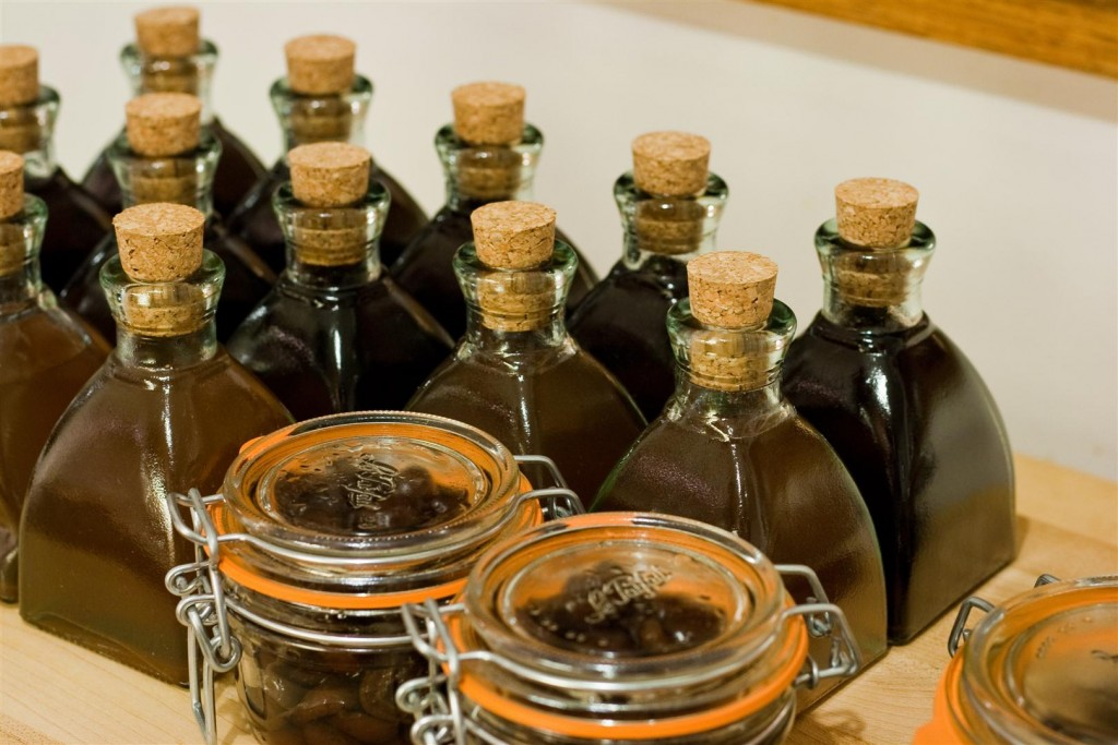 Bottling the brandy