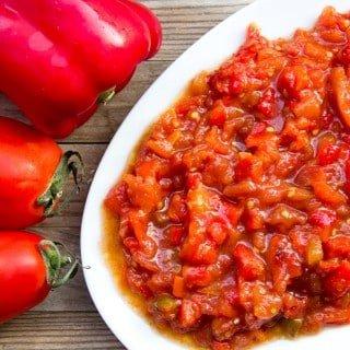 Warm Tunisian Salad