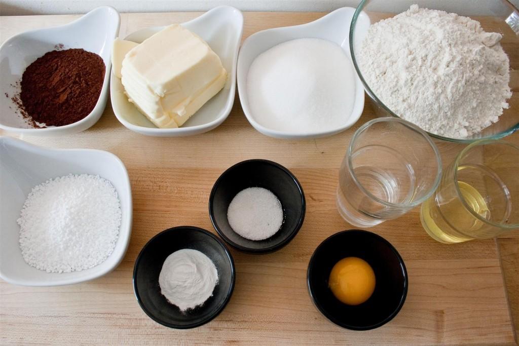 Chokladsnitt ingredients