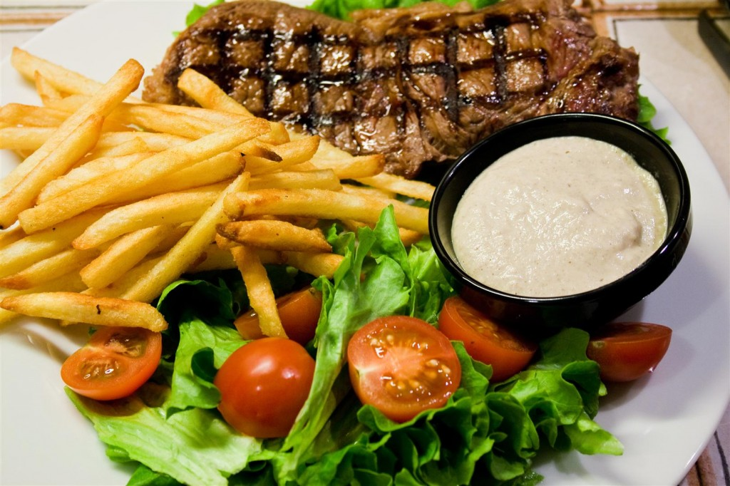 Mushroom and Onion Steak Sauce