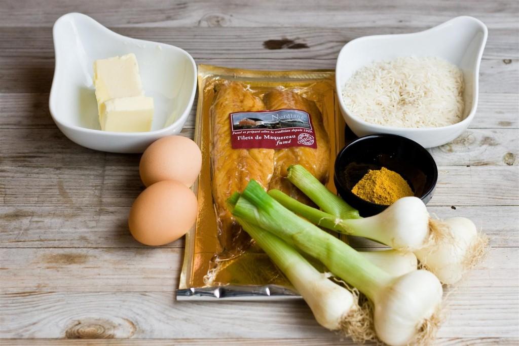 Kedgeree Ingredients