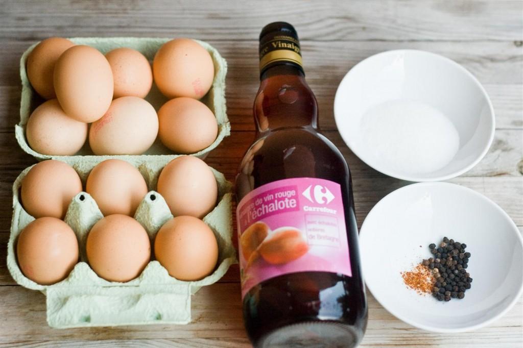 Pickled Eggs ingredients