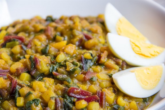 Beetroot Greens Curry
