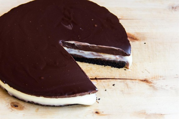 Triple Chocolate Truffle Tart