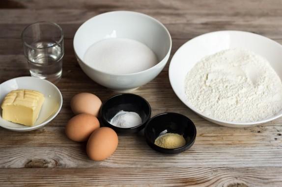 Sockerkaka ingredients