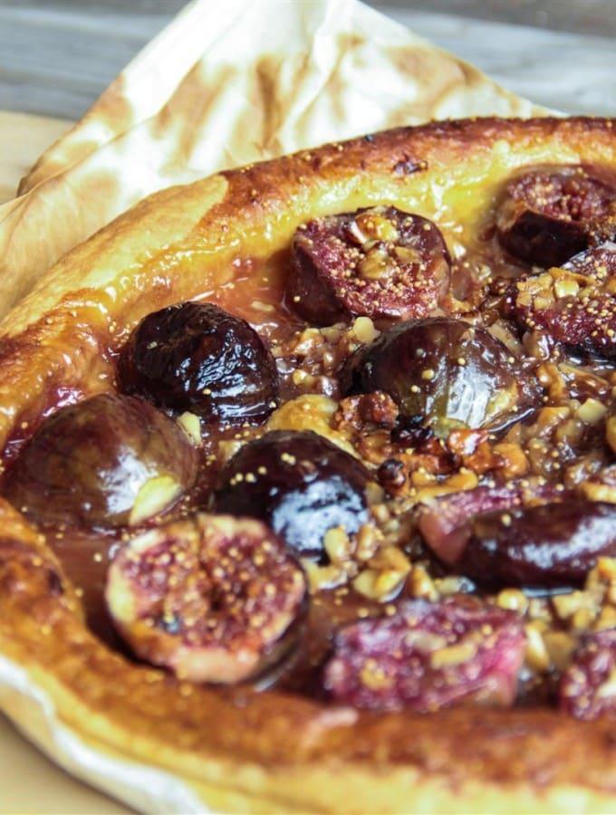 Fig, Honey and Walnut Tart