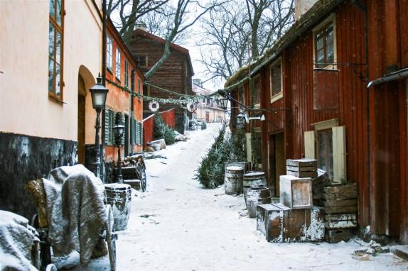 Tjuvarnas Jul at Skansen