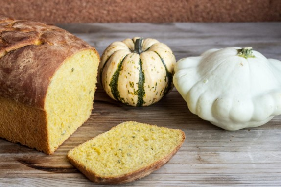 Pumpkin and Sage Bread