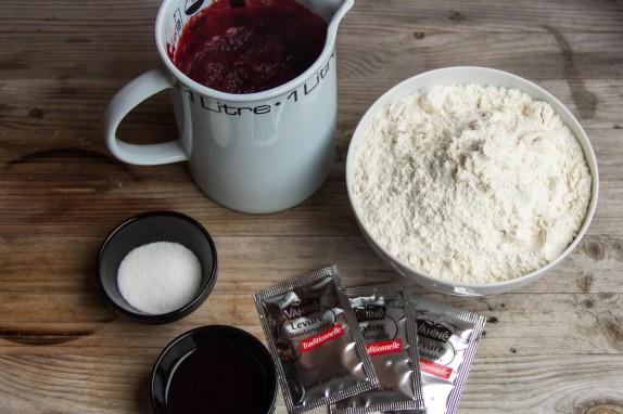 Beetroot Bread ingredients