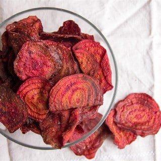 Hand-cooked Beetroot Chips