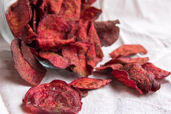 Hand-cooked Beet Chips