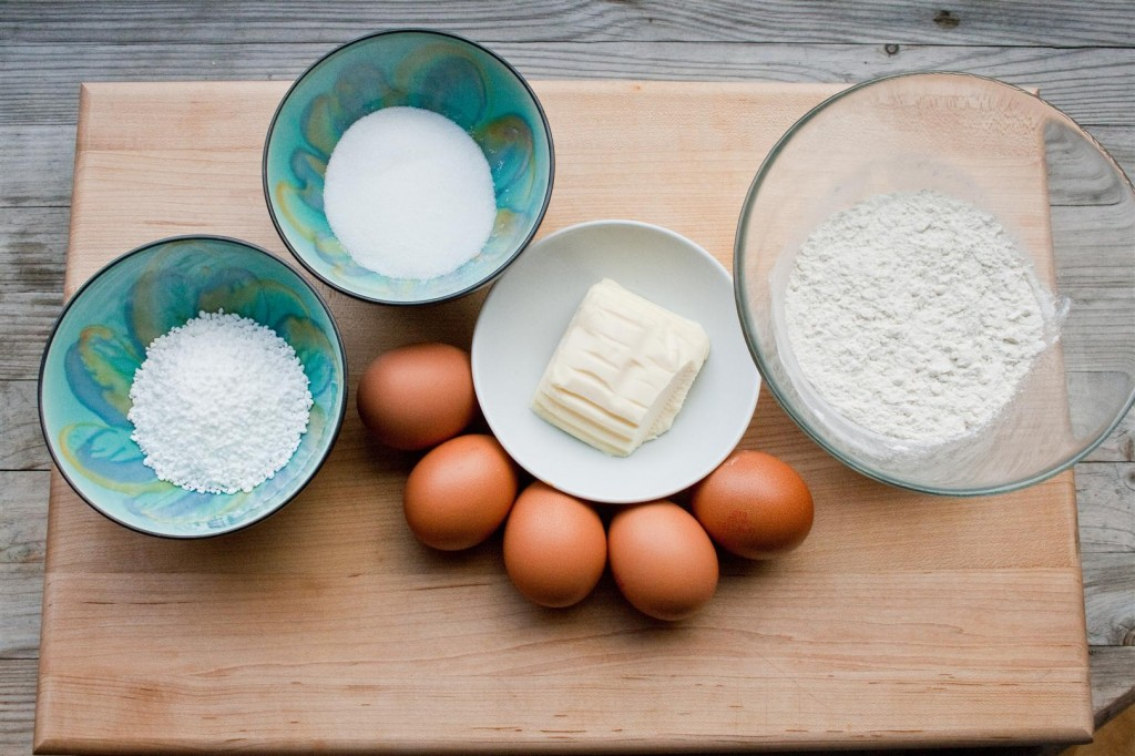 Chouquettes ingredients