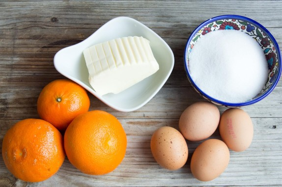 Orange Curd ingredients