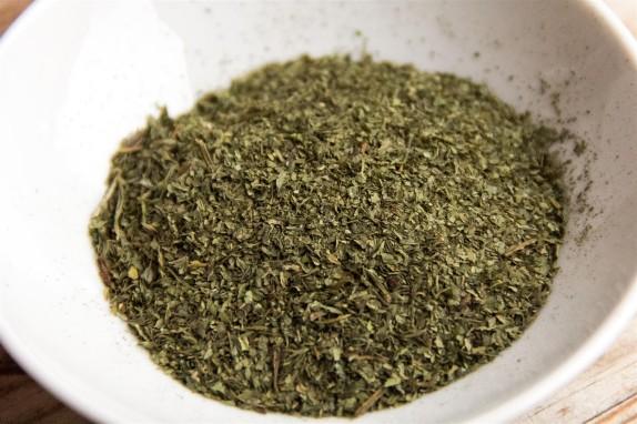 Home-made Celery Leaf Spice