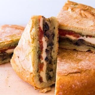 Vegetarian Shooter's Sandwich
