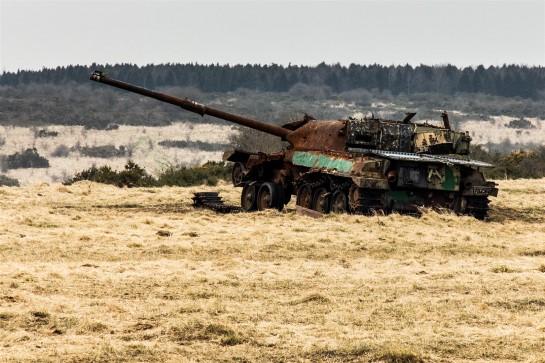 Another broken tank