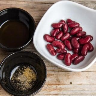 Kidney Bean Purée ingredients