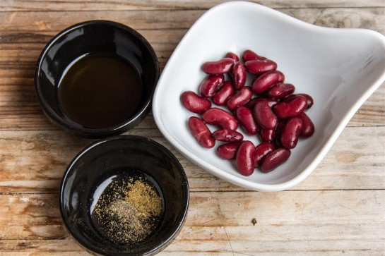 Kidney Bean Purée ingredients