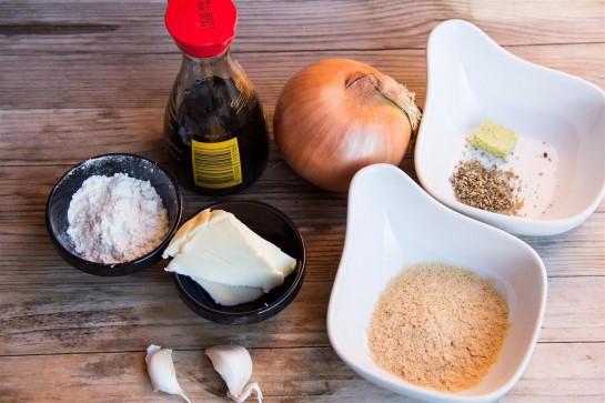 Vegetarian Gravy ingredients