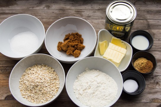 Oat Cookie ingredients