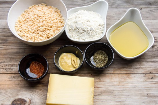 Cheese Thins ingredients