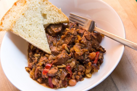 Moroccan-inspired Lamb Stew