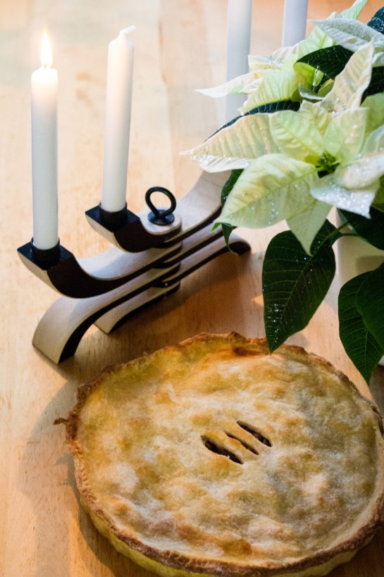 Normandy Pear Pie